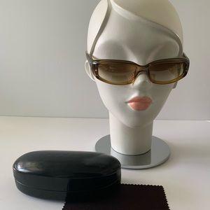 Vintage Gucci Sunglasses Oval Frames